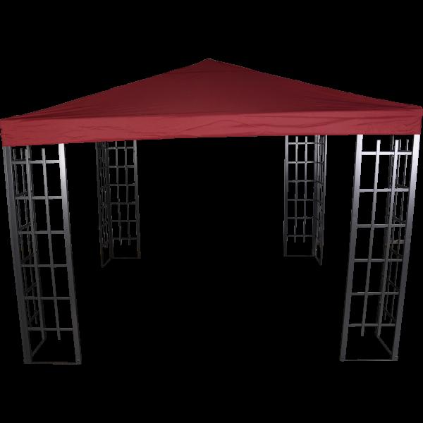 Pavillon ROYAL mit Dach bordeaux
