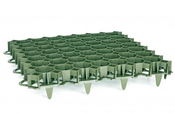 2,4 m² Rasengitter SG40g grün im Set (10 Platten)*, versandkostenfrei