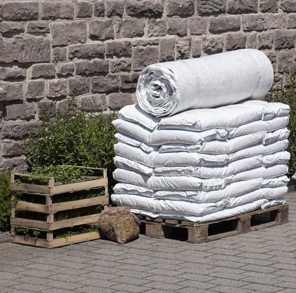 Gründach Paket 10 m² mit Pflanzen Dachbegrünung