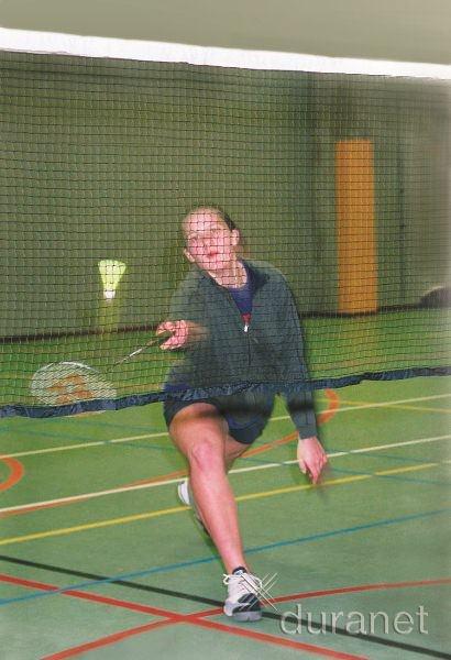 Federball / Badminton - Netz 0,76 m x 6,10 m