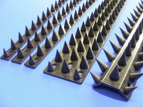 Katzenspikes, 1 Set = 4,4 m, Übersteigschutz Mauerspitzen