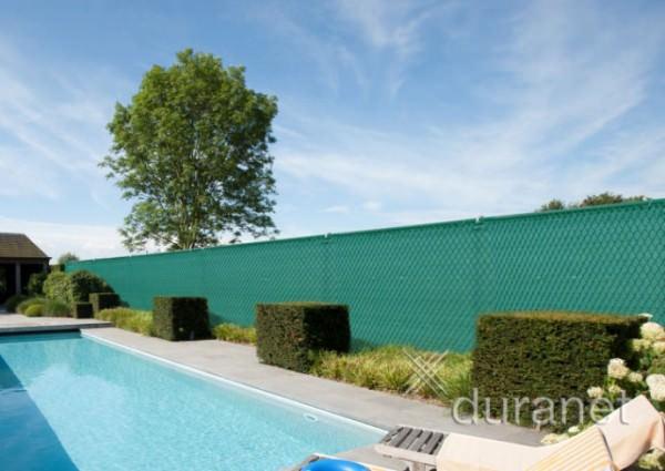 20 lfdm Sichtschutznetz grün Höhe 1,50 m - Kunstsoffzaun Netz