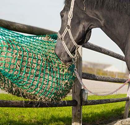 Heunetz für kleine Pferde 0,90m x 1,00m -