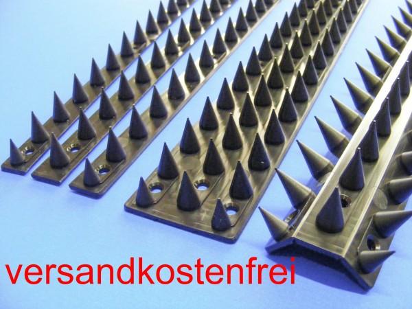 Katzenspikes, 4,4 lfdm, Übersteigschutz Mauerspitzen versandkostenfrei