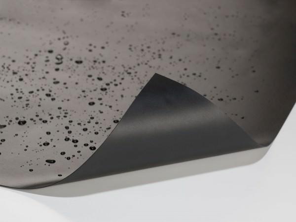 Teichfolie PVC 1,0 mm schwarz ... 8 m x 8 m