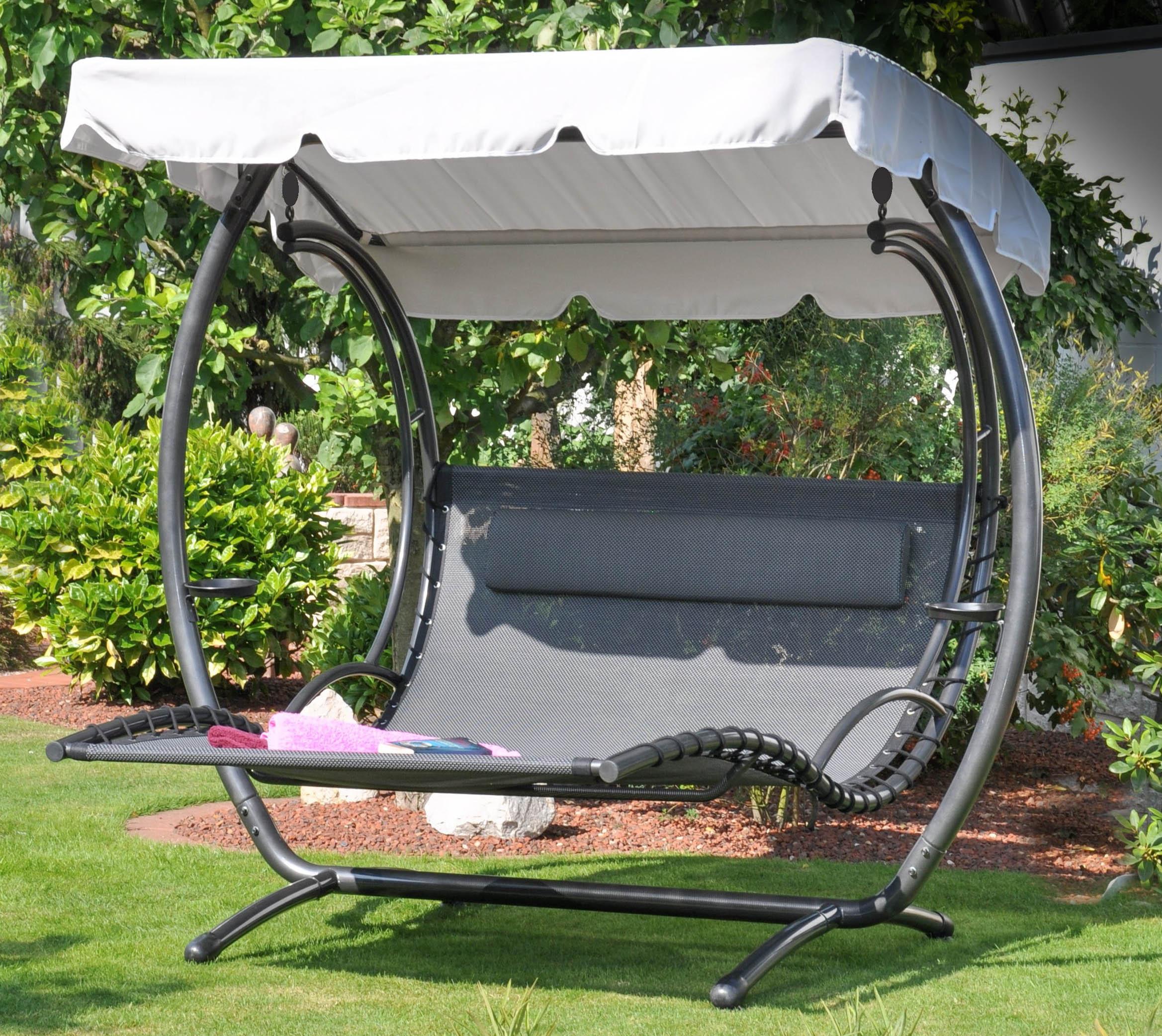 doppel schaukelliege capri duo swing gartenshop. Black Bedroom Furniture Sets. Home Design Ideas