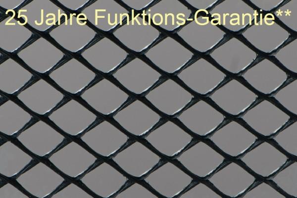 200 m² Maulwurfgitter mit 25 Jahren Funktions-Garantie** horizontal -