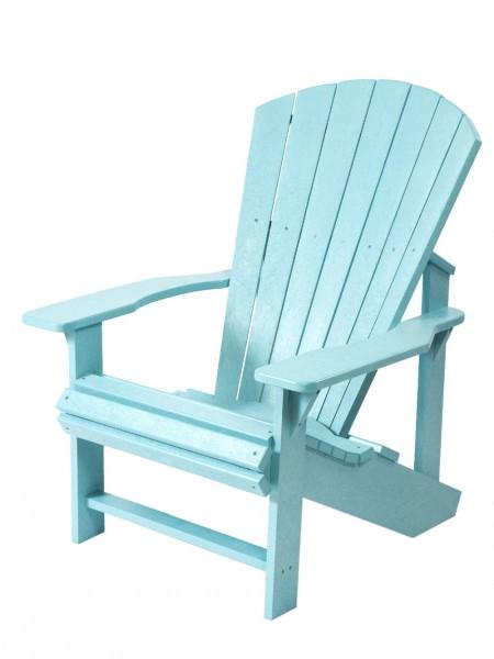 Florida Stuhl im Adirondack Stil hellblau