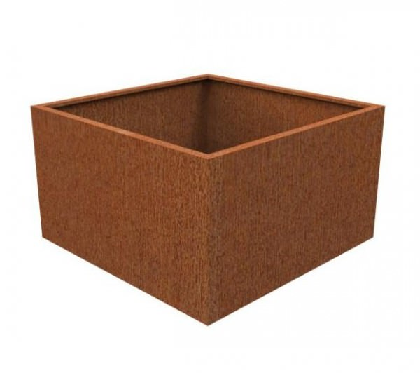 Pflanzkübel CORTEN  quadratisch