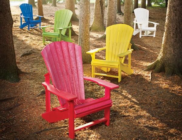 Adirondack Stuhl Kunststoff