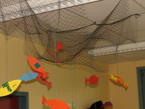Dekonetz Fischernetz schwarz