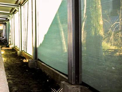50 lfdm Windschutznetz .... Breite = 1,00 m