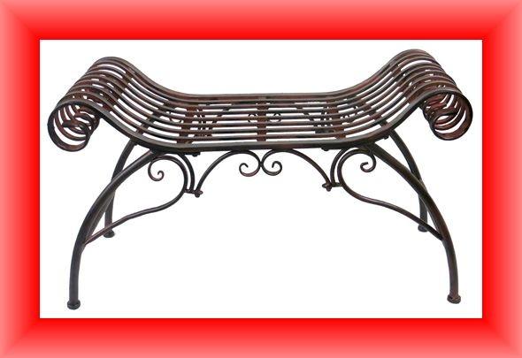 Gartenbank Pompeji - Sitzbank antiklook