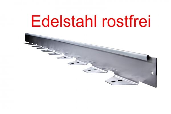 Rasenkanten Edelstahl 0,95 m (Set = 4,75 lfm) Randeinfassung Beetbegrenzung
