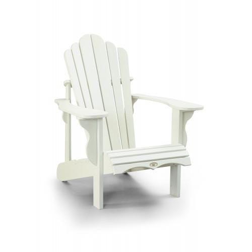 Adirondack Leisure Line weiß Kunststoff - Muskoka-Stuhl
