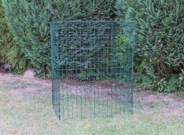 Laubfangkorb grün -versandkostenfrei- kaum sichtbarer Laubkorb, Laubgitterbox