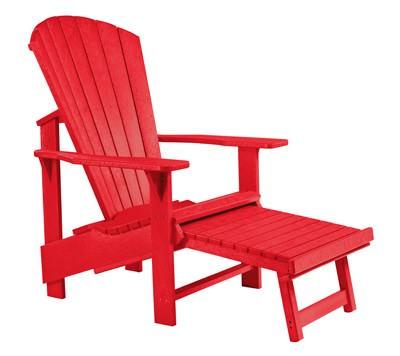 ADIRONDACK Stuhl mit Fußhocker
