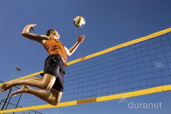 Beach Volleyballnetz .. 1,00m x 8,50m. Turnier-Qualität