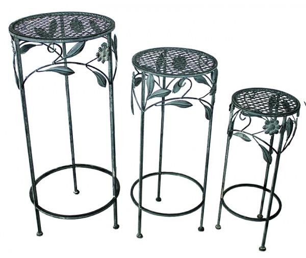 Blumenhocker im Set (drei Stück)