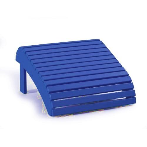 Fußbank LeisureLine blau