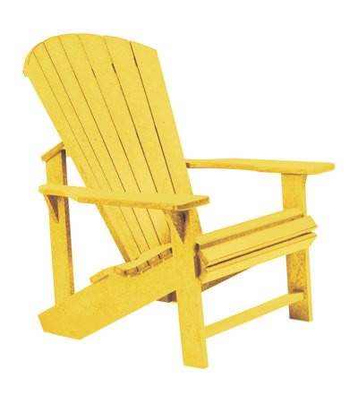 Adirondack Stuhl mit sieben Rückenstreben